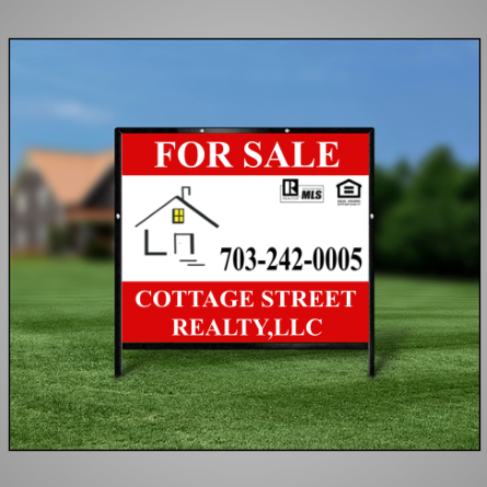DC for sale sign