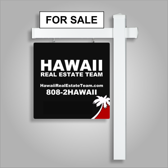 Hawaii For Sale Sign