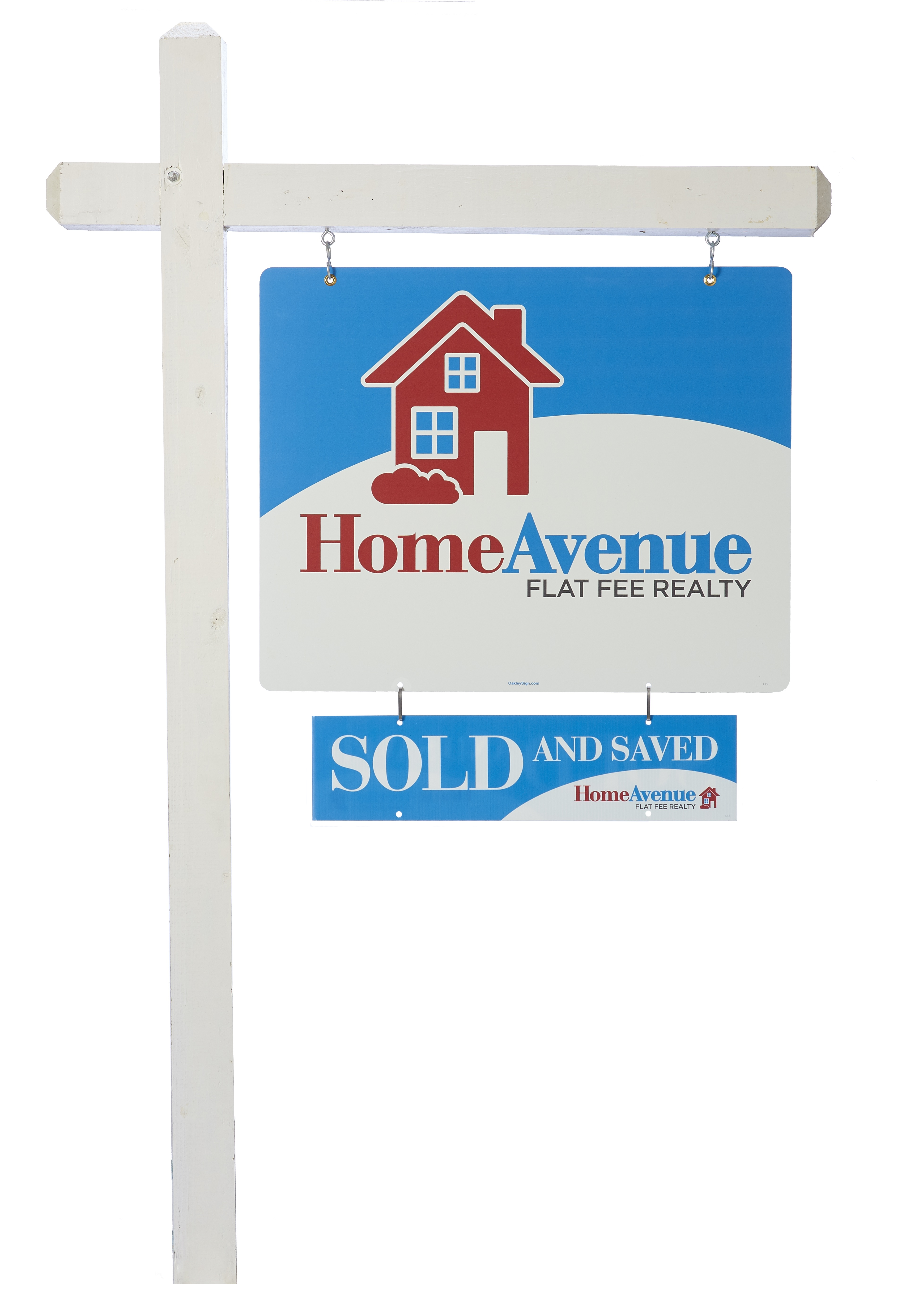 Home Avenue Real Estate signs