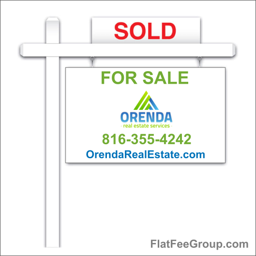 Kansas Flat Fee Real Estate Sign