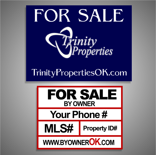 Oklahoma for sale signs