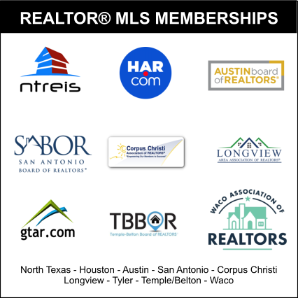 Texas MLS memberships