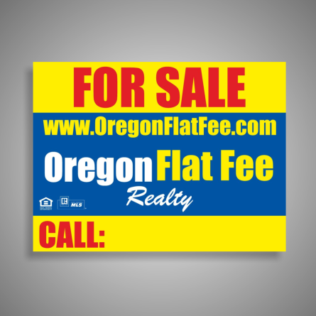 Oregon Sale Sign