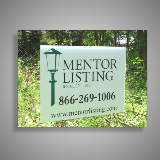 Mentor Listing For Sale Sign