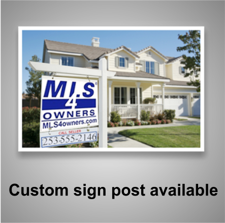 Washington FSBO sign
