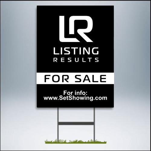 Premium for sale sign