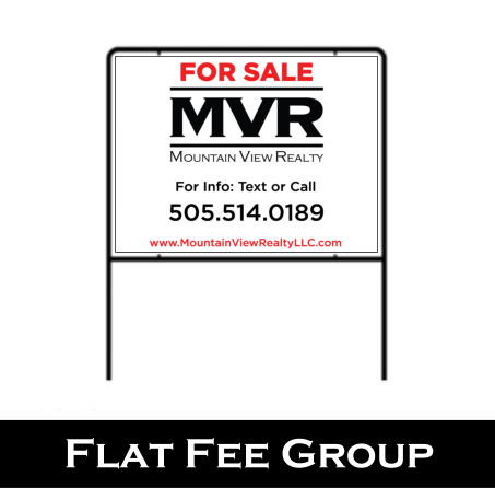 New Mexico Real Estate Sign