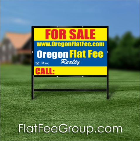 Oregon for sale sign