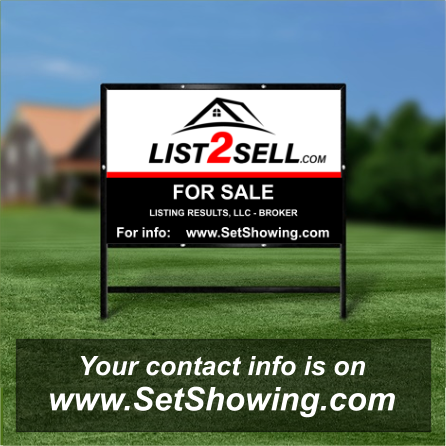 Sell or Rent sign