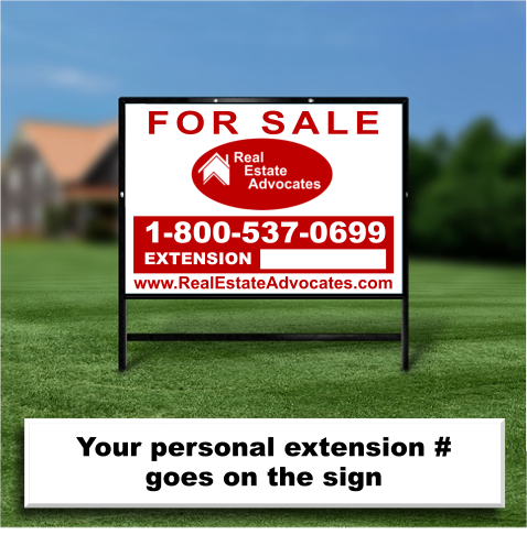 South Carolina Real Estate Sign