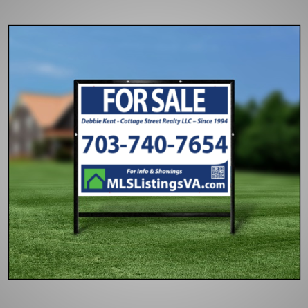 VA sale sign